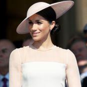 Look minimalista marca 1ª aparição de Meghan Markle como duquesa de Sussex