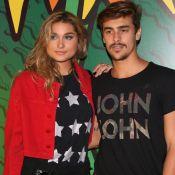 No Rio, Sasha Meneghel curte sarau com o namorado, Bruno Montaleone. Foto!