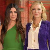 Sandra Bullock e Cate Blanchett apostam em cores fortes em evento. Mais looks!