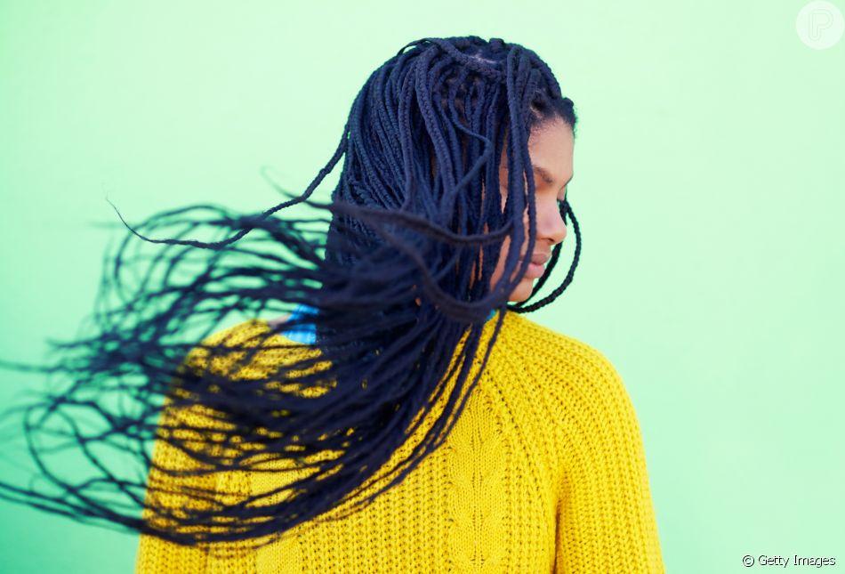 Especialista dá dicas de material sintético para as box braids: 'Jumbo e kanekalon'
