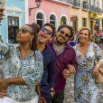Na novela 'Segundo Sol', Naná (Arlete Salles) tentará desmentir Miguel / Beto Falcão (Emilio Dantas): 'Você entendeu errado'