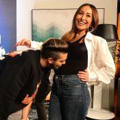 Luan Santana tieta barriga de Sabrina Sato grávida: 'Mamãe mais linda do mundo'
