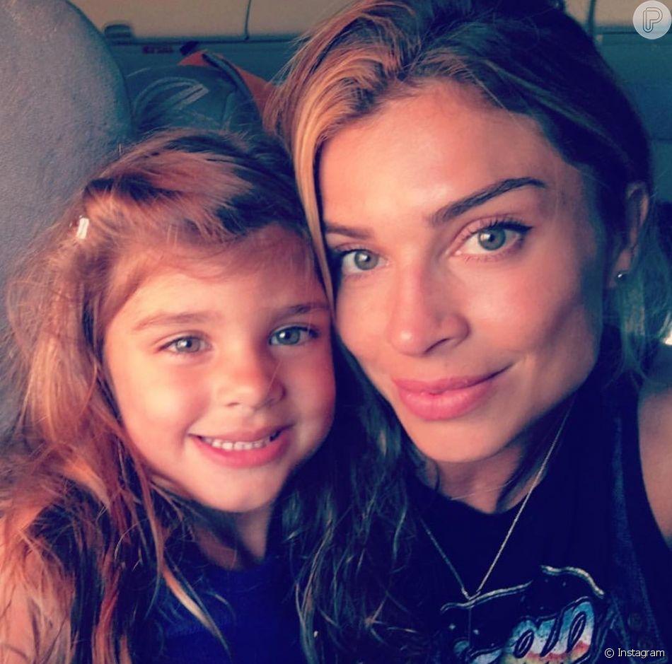 Grazi Massafera homenageou a filha, Sofia, pelo aniversário de 6 anos em seu Instagram nesta quarta-feira, 23 de maio de 2018