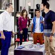 Marcelo (Murilo Cezar) e Roger (Otávio Martins) discutem em sua casa, no capítulo que vai ao ar segunda-feira, dia 28 de maio de 2018, na novela 'As Aventuras de Poliana'
