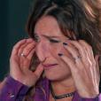 Verônica (Mylla Christie) se desespera ao ver a aparência de seu nariz após a cirurgia e desmaia, no capítulo que vai ao ar segunda-feira, dia 28 de maio de 2018, na novela 'As Aventuras de Poliana'
