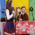 Poliana (Sophia Valverde) é acusada injustamente de causar microfonia durante a fala de Filipa (Bela Fernandes), no capítulo que vai ao ar quarta-feira, dia 30 de maio de 2018, na novela 'As Aventuras de Poliana'