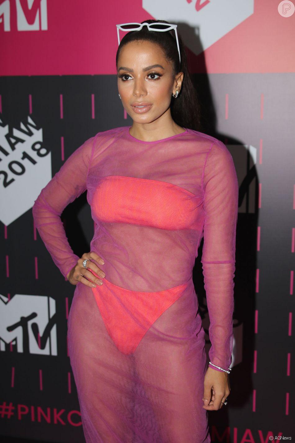 Anitta será uma das atrações do prêmio da MTV, realizado nesta sexta-feira  (23) em SP 1398eb5bd4