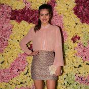 Camila Queiroz investe em look rosé para evento com Lethicia Bronstein. Fotos!