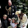 'Para mim, como mãe, são os momentos familiares simples como brincar junto ao ar livre que eu aprecio', declarou Kate Middleton, mãe de George, Charlotte e Louis, de 1 mês