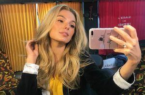 Isis Valverde surpreende com cabelo loiro em foto: 'Me reinventei!'