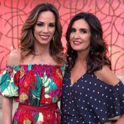 Ana Furtado recebe apoio de Fátima Bernardes após revelar câncer: 'Conte comigo'