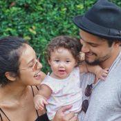Filha de Bruno Gissoni, Madalena escolheu Felipe Simas como padrinho: 'Conexão'