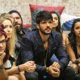 Dias depois de ser eliminado do 'BBB18', Lucas anunciou o fim de seu relacionamento com Ana Lúcia