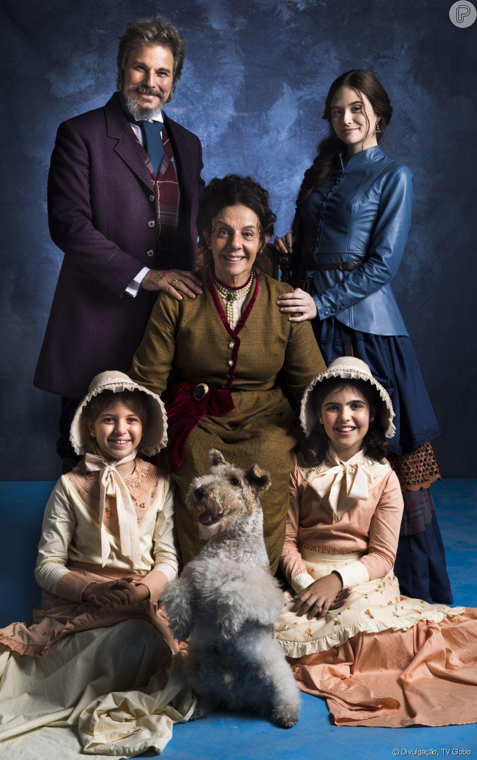 Uma família que é congelada após acidente de barco em 1886 e volta à vida em 2018 é o ponto de partida da novela 'O Tempo Não Para', sucessora de 'Deus Salve o Rei'