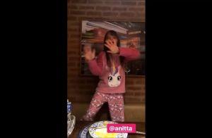 Ticiane Pinheiro mostra filha, Rafaella Justus, dançando 'Paradinha'. Veja vídeo