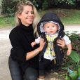 Karina Bacchi teve Enrico, de 9 meses, por meio de uma produção indepedente
