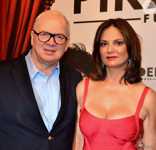 Ex de Luiza Brunet, Lírio Parisotto se pronunciou após vencer ação contra atriz na quarta-feira, 30 de maio de 2018