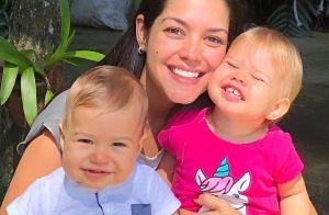 Thais Fersoza exalta cumplicidade dos filhos, Melinda e Teodoro: 'Companheiros'