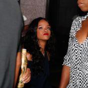 Rihanna e Gerard Butler prestigiam festa em hotel da Zona Sul do Rio