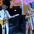 Ivete Sangalo falou da emoção de cantar com Gilberto Gil