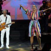 Ivete Sangalo relata experiência de cantar com Gilberto Gil: 'Estava nervosa'