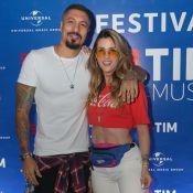 Fernando Medeiros avalia relação com Aline Gotschalg: 'Amor só aumentou'