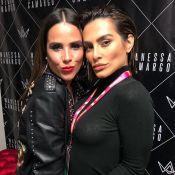 Cleo Pires marca presença em show de Wanessa Camargo em Festival LBGT, em SP