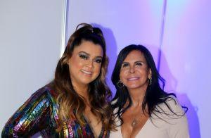 Preta Gil recebe Gretchen e Thammy Miranda durante show em festival LGBTQ, em SP