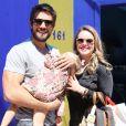 Valentim, filho de Rafael Cardoso e Mariana Bridi, nasceu na última quarta-feira, 30 de maio de 2018