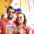Rafael Cardoso já protagonizou um beijão com a mulher, Mariana Bridi, no Instagram