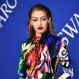 Gigi Hadid no CFDA (Council of Fashion Designers of America) Awards 2018, realizado no Brooklyn Museum, em Nova York, nesta segunda-feira, 4 de junho de 2018