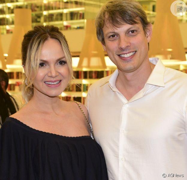 Eliana planeja casamento com o noivo, Adriano Ricco, para 2018