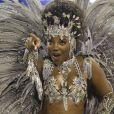 O cabelo de Ludmilla foi comparado a uma esponja de aço por Val Marchiori no Carnaval de 2016
