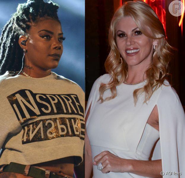 Val Marchiori foi condenada a indenizar Ludmilla em R$ 10 mil após comentário sobre o cabelo da cantora