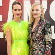 Sarah Paulson e Cate Blanchett na première mundial do filme 'Ocean's 8' ('Oito Mulheres e um Segredo') no Alice Tully Hall, em Nova York, nesta terça-feira, 5 de junho de 2018