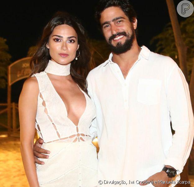 Thaila Ayala dribla a distância no namoro com Renato Góes