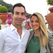 Ticiane Pinheiro e Cesar Tralli comemoram 6 meses de casados na Itália. Fotos!