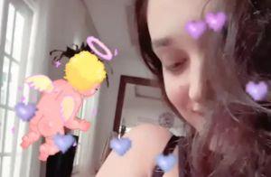 Débora Nascimento amamenta filha, Bella, e mostra foto na web: 'Emocionante'