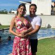 Wesley Safadão é casado com Thyane Dantas, que está grávida do segundo filho do casal