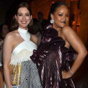 Anne Hathaway teve ajuda de Rihanna para aceitar corpo após gravidez: 'Amei'