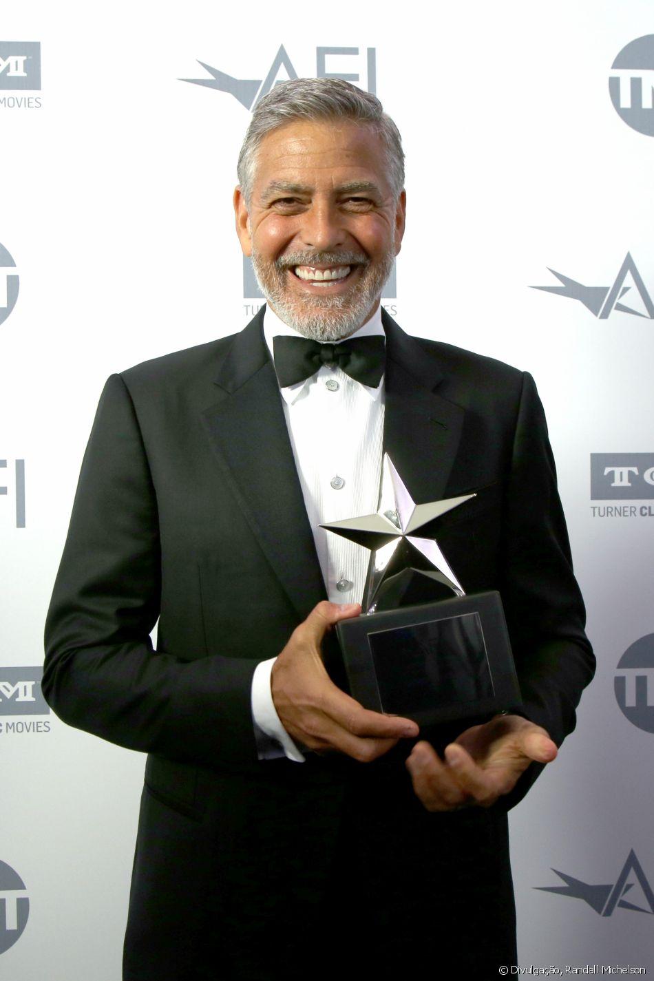 George Clooney foi o homenageado da noite no 46º AFI Life Achievement Award