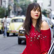 Alessandra Negrini aparece caracterizada como a vilã Susana, de 'Boogie Oogie'
