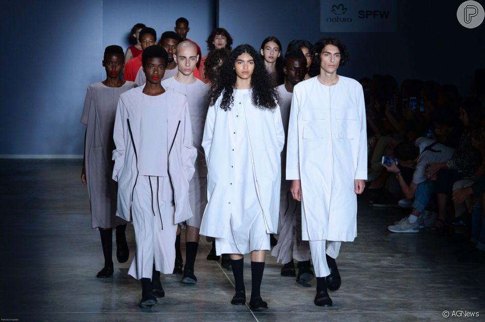 4ef7f7c26 Moda genderless é aposta para Dia dos Namorados com liberdade fashion.  Confira na galeria publicada