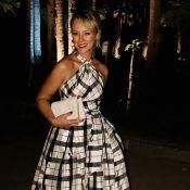 Paolla Oliveira usa vestido de Carolina Herrera no casamento de Isis Valverde