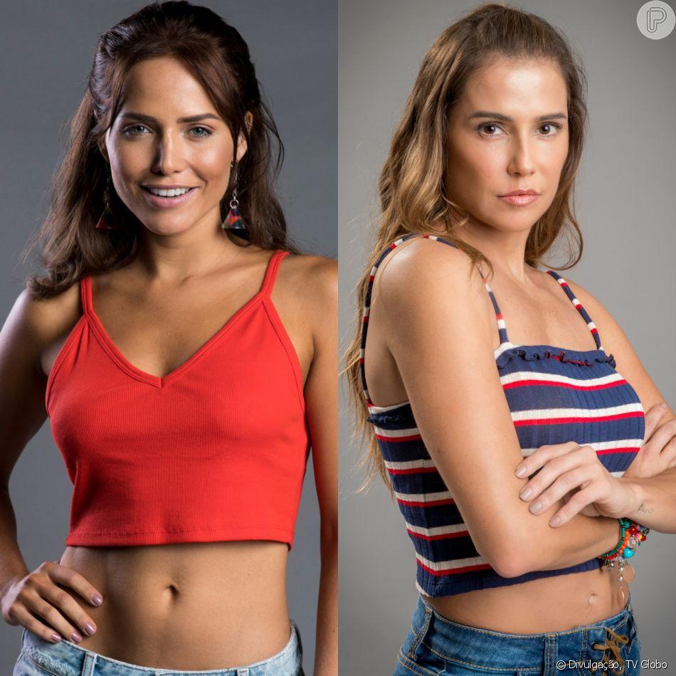 Rosa (Letícia Colin) descobre que Karola (Deborah Secco) foi prostituta no passado no capítulo previsto para ir ao ar dia 4 de julho de 2018, na novela 'Segundo Sol'