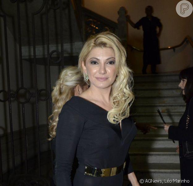 Antonia Fontenelle foi à estreia do espetáculo 'Ópera do Malandro', no Theatro Municipal, no Centro do Rio de Janeiro, nesta quinta-feira, 17 de julho de 2014