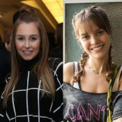 Joana Borges chorou ao encontrar Carla Diaz em bastidor: 'Fã desde Chiquititas'