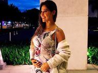 Grávida, Mayra Cardi pede para não tocarem em sua barriga: 'Tenho pavor'