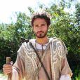 Bruno Peixoto é José, filho preferido de Jacó (Felipe Cardoso) na série 'Lia'. Futuro governador do Egito é o primogênito de Raquel (Graziela Schmitt)