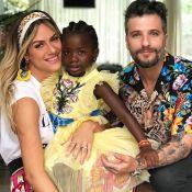 Giovanna Ewbank destaca amor por Títi no aniversário da filha: 'Chega a doer'